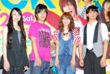 映画『NECK ネック』のトークショーイベントに出席した(左から)栗山千明、溝端淳平、相武紗季、平岡祐太