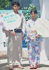 映画『君に届け』のヒット祈願イベントを行った(左から)三浦春馬、多部未華子 (C)ORICON DD inc.