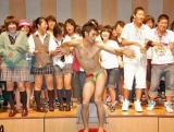 文化放送『レコメン!』の受験生決起集会イベントで新ネタを披露した小島よしお (C)ORICON DD inc.