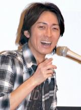 熱愛報道にも余裕(!?)なナインティナイン・矢部浩之(C)ORICON DD inc.