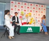モスバーガーの『ご当地バーガー』プレス発表イベントでトークショーを行った西山茉希 (C)ORICON DD inc.