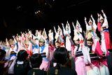 総勢60名の阿波踊り集団とコラボ