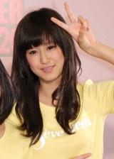 『ミスセブンティーン2010』に選ばれた阿部菜渚美 (C)ORICON DD inc.