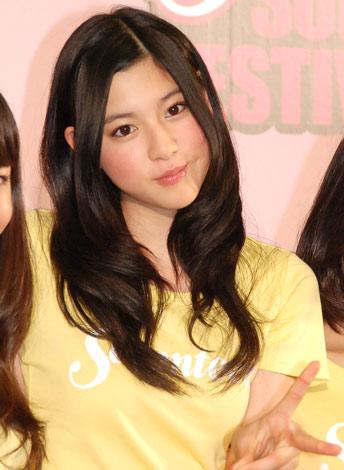 『ミスセブンティーン2010』に選ばれた三吉彩花 (C)ORICON DD inc.