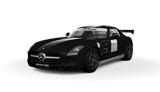 PS3『グランツーリスモ5』初回生産限定版に封入されているプレゼントカー(Mercedes-Benz SLS AMG Stealth Model)