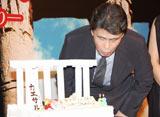 舞台『カエサル‐「ローマ人の物語」より‐』の制作発表記者会見が行われたこの日、68歳の誕生日を迎えた松本幸四郎 (C)ORICON DD inc.