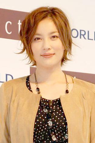 ファッションモデルの瀬戸朝香さん