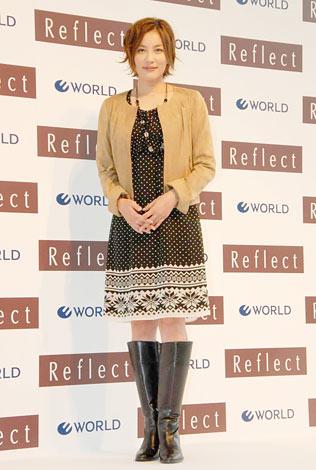 女性ファッションブランド『Reflect』の新キャラクター発表会に出席した瀬戸朝香 (C)ORICON DD inc.