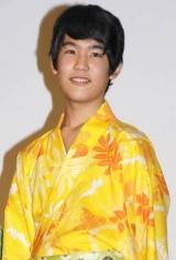 映画『カラフル』の初日舞台あいさつに出席した冨澤風斗 (C)ORICON DD inc.