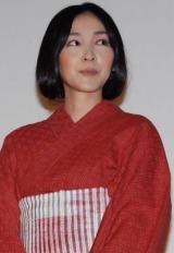 映画『カラフル』の初日舞台あいさつに出席した麻生久美子 (C)ORICON DD inc.