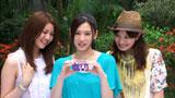台湾に旅行で訪れた北川景子(中央)/『サイバーショット DSC-WX5』(ソニー)CM