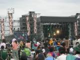 北海道最大の野外フェス「RISING SUN ROCK FESTIVAL 2010 in EZO」が8月13日、14日に石狩湾新港樽川ふ頭野外特設ステージで開催された