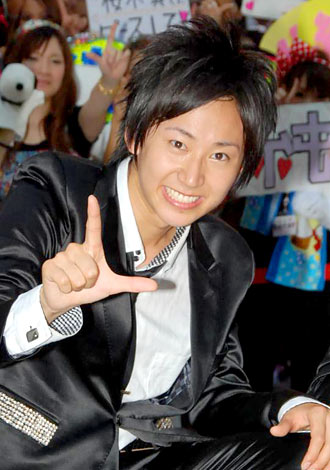 3rdシングル「愛の唄」の発売記念イベントを行った新選組リアン・関義哉 (C)ORICON DD inc.