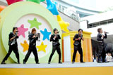 3rdシングル「愛の唄」の発売記念イベントの模様 (C)ORICON DD inc.