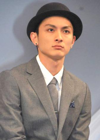 WOWOW連続ドラマW『マークスの山』の制作発表会見に出席した高良健吾 (C)ORICON DD inc.