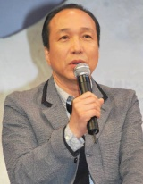 WOWOW連続ドラマW『マークスの山』の制作発表会見に出席した小日向文世 (C)ORICON DD inc.