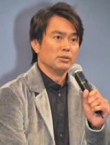 WOWOW連続ドラマW『マークスの山』の制作発表会見に出席した石黒賢 (C)ORICON DD inc.