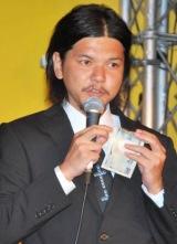 DVD『やりすぎコージー DVD BOX 15』の発売記念イベントに出席したハローバイバイ関暁夫 (C)ORICON DD inc.