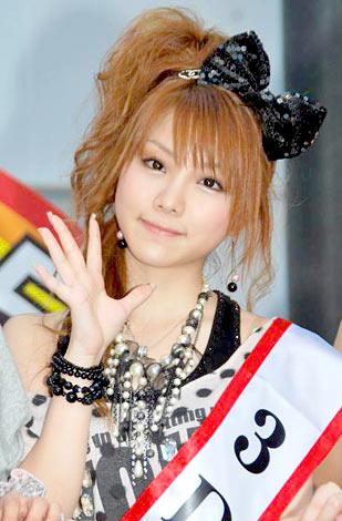 BS-TBSの3D放送記者会見に出席したモーニング娘。の田中れいな (C)ORICON DD inc.