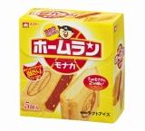 9月27日に発売される、ブランド初のモナカアイス『ホームランモナカ バニラ&チョコ』