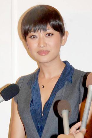 ILMARI&蛯原友里の結婚披露パーティーに出席した山田優(C)ORICON DD inc.