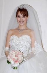 ILMARIとの結婚披露パーティーで幸せいっぱいの蛯原友里(C)ORICON DD inc.