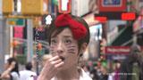 オーディションを終え街を歩く宮沢りえ演じるハローキティ//『アーモンドプレミオ』(江崎グリコ)新CM