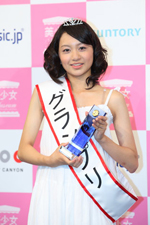 グランプリに選ばれた西條 澪さん(C)ORICON DD inc.