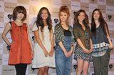 写真左からノーマ、クリスティーナ、平山あや、アリス、紗耶 (C)ORICON DD inc.