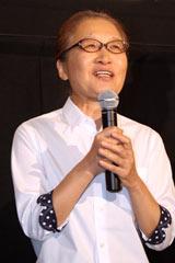 映画『トイレット』の初日舞台あいさつに登壇したもたいまさこ (C)ORICON DD inc.