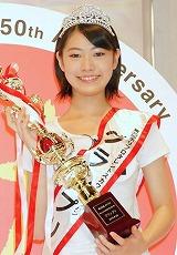 『第35回ホリプロタレントスカウトキャラバン』でグランプリに選ばれた安田聖愛(やすだ せいあ)さん (C)ORICON DD inc.