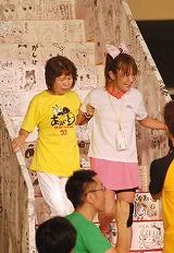 最後は母・初美さんとともにゴールを目指した (C)ORICON DD inc.