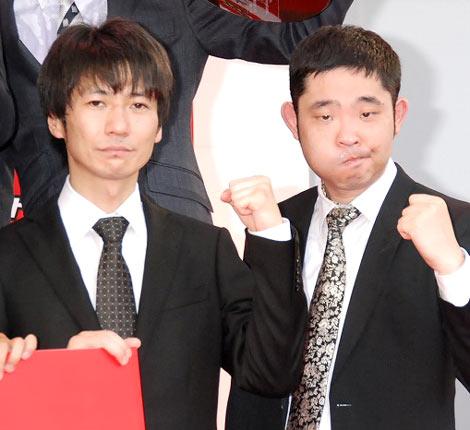 『キングオブコント2010』 決勝戦に進出したキングオブコメディの高橋健一と今野浩喜 (C)ORICON DD inc.