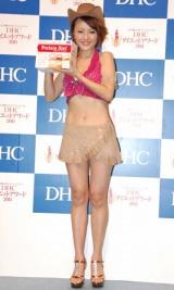 """DHCプロティンダイエットで、2ヶ月""""6.8キロ""""の減量に成功した中澤裕子 (C)ORICON DD inc."""