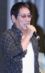 映画『おにいちゃんのハナビ』プレミア上映イベントに出席した大杉漣 (C)ORICON DD inc.