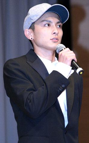 映画『おにいちゃんのハナビ』プレミア上映イベントに出席した高良健吾 (C)ORICON DD inc.