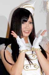 シングル「ずっと 前から」発売記念イベントを行ったフレンチ・キスの倉持明日香