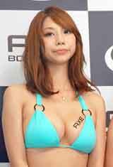 男性用化粧品ブランド『アックス ボディソープ』の発売記念イベントに登場した小泉麻耶 (C)ORICON DD inc.