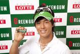 『グリーンガム』(ロッテ)新CMのイメージキャラクターを務める石川選手