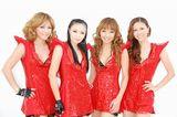 アルバム発売記念イベントを行ったMAX(左からLINA、MINA、REINA、NANA) (C)ORICON DD inc.