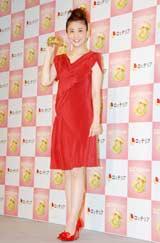 真っ赤なドレスで登場 (C)ORICON DD inc.
