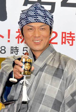 TBS系ドラマ『水戸黄門 第42部』の制作発表会見に出席した的場浩司 (C)ORICON DD inc.