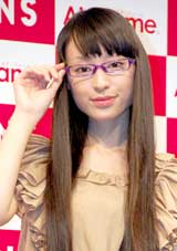 『Air frame』新作TVCM発表会に出席した栗山千明