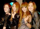 日本デビューアルバム『SOUND-G』をリリース記念イベントを行ったBROWN EYED GIRLS(左からガイン、ジェア、ミリョ、ナルシ)