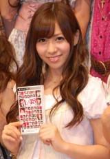 AKB48初のゲーム『AKB1/48 アイドルと恋したら…』の制作発表会に出席した河西智美 (C)ORICON DD inc.