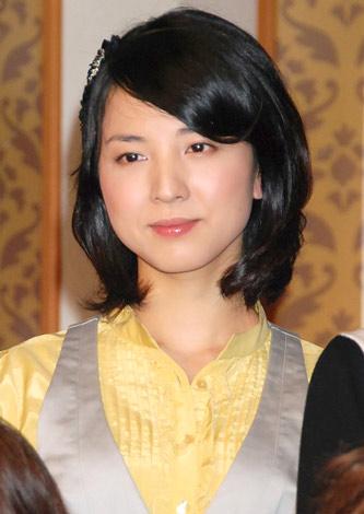 NHK番組『祝女〜SHUKUJO〜』の会見に出席した早織 (C)ORICON DD inc.