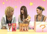 新商品『ポッキーミルク』について語る(左から)間宮梨花、菅野結以、武田静加