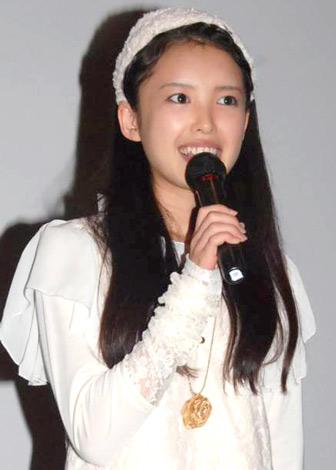 映画『劇場版ほんとうにあった怖い話3D』の完成報告会見に出席した℃-uteの中島早貴 (C)ORICON DD inc.