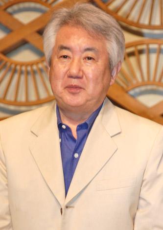 スペシャルドラマ『旅する夫婦』の製作発表記者会見に出席した脚本家の市川森一 (C)ORICON DD inc.