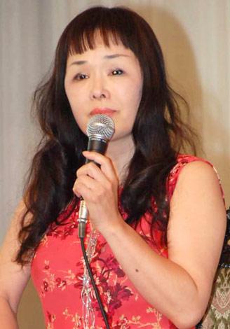 舞台『プライド』の製作発表会見に出席した原作者の一条ゆかり氏 (C)ORICON DD inc.